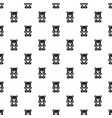 jelly bear pattern seamless vector image