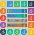 Like sign icon Thumb up symbol Hand finger-up Set vector image vector image