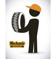 mechanic design vector image