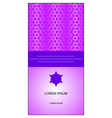 muslim pattern card vector image vector image
