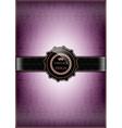 Purple Vintage Design vector image vector image