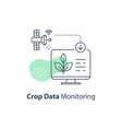 satellite crop monitoring smart automation system