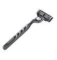 shaving razor vector image vector image
