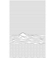 striped background - nature landscape with sea vector image