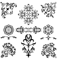 Abstract pattern set vector image