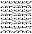 geometric ethnic aztec triangle seamless pattern vector image vector image