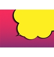 Pop Art Speech Bubble vector image