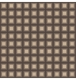 Squares seamless pattern light brown colors vector image