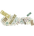 the inferno of the finance director text vector image vector image