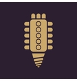 The led lamp icon Lamp and bulb lightbulb CFL vector image vector image