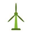 wind turbine energy vector image