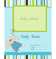 Baboy arrival card with frame