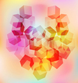 background heart 1 vector image vector image