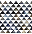 black triangle seamless pattern vector image vector image