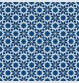 classic blue moorish seamless ornament