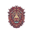 ornamental lion vector image