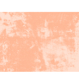 Peach Grunge Texture vector image vector image