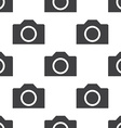 Photo camera seamless pattern