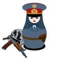 policeman vector image vector image