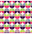 seamless geometric circular pattern vector image vector image