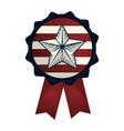 united states seal stamp design vector image