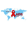 1st december world aids day concept aids vector image