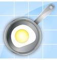 breakfast omeletteer icon vector image