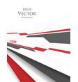 brochures template vector image vector image