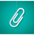 clip icon Eps10 vector image vector image