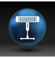 Electric heater light icon vector image