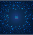 electronic background vector image vector image