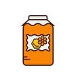 Honey product icon vector image