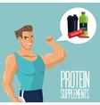 Icon of Protein Supplement design vector image vector image