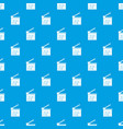 movie cracker pattern seamless blue vector image vector image