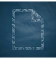 paper icon vector image vector image