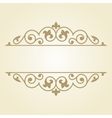 Russian traditional ornament vector image vector image