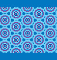 seamless blue pattern background with stylized vector image