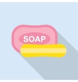 soap icon vector image vector image