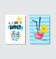 sunny beach badge isolated typographic design vector image vector image