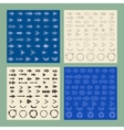 Arrows sign icon set Editable and design vector image