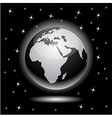Earth in space - Africa vector image vector image