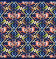 floral ethnic style paisley seamless pattern vector image vector image