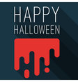 Halloween party mock up vector image vector image