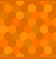 hexagon honey comb theme seamless pattern vector image