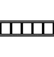 old fashioned 35mm filmstrip isolated vector image vector image
