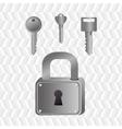 padlock icon design vector image