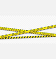 quarantine biohazard danger rossed yellow and vector image