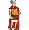 roman emperor vector image vector image