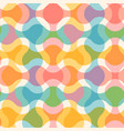 vintage seamless abstract pattern vector image vector image