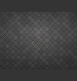 black geometric tile mosaic textured background vector image vector image